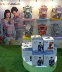 소르베베가 지난 11월 12일부터 4일간 태국에서 열린 유아 박람회에 참가해 스텔라와 에어로 로빅 플러스 힙시트를 선보였다