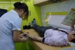 한국보건복지인력개발원이 노사 화합의 사랑 나눔 헌혈 행사를 펼쳤다