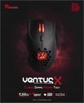 에어로 다이나믹 컨셉 써멀테이크 티티이스포츠 벤투스X 마우스가 출시됐다