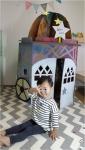 홍선생미술이 머리에 그리는 행복한 종이집 완구를 출시했다