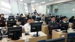 중국어 HSK iBT 시험장 풍경.