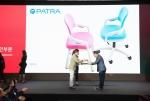 파트라가 제미니 핀업 디자인 어워드 동상을 수상했다