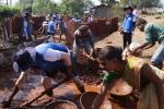 삼성물산이 인도 삼성물산 2호 마을 건설 봉사활동을 실시했다