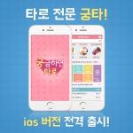 타로 전문 앱 궁타 ios 버전이 출시됐다