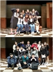배우를 꿈꾸는 사람들 2기 학생 단체사진
