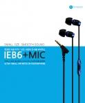 사운드캣, First Harmonic사 초소형 이어폰 'IEB6+MIC' 출시