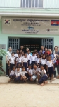 정용화가 캄보디아에 쌀 10,500kg를 기부했다
