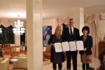 (좌측부터) 리앗 벤 데이빗(Liat Ben David) 울프재단 CEO, 헤츠키 아리엘리 IGE 회장, 허종숙 IGE 대표
