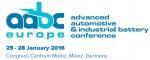 유럽 자동차 배터리 컨퍼런스 AABC Europe 2016가 열린다