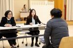장애인일자리사업 참여 선발자 면접 진행 모습