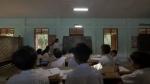 """""""에네루프 태양관 스토리지""""가 미얀마 냥우에 있는 아우크 니트 초등학교에 기증되었다."""