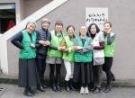 골프웨어 그린조이 임직원과 봉사자들이 독거 노인을 위한 봉사활동을 했다
