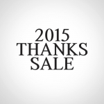 2015 THANKS SALE