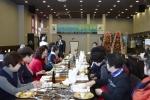 용인송담대학교가 17일 매산 시장과 진행한 전통시장 대학협력 사업의 성과발표회를 개최했다