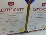 국제표준화기구(ISO)에서 헤드헌팅 회사 커리어앤스카우트에 수여한 품질경영시스템 인증서