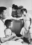 1958년 건국대 민중병원 진료소 (사진제공: 건국대학교)