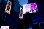 노상현 작가의 타임스퀘어 전시 작품 중 Manhattan 004