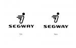 기업 VI 비교: 이전 로고(좌측) / 새 로고(우측) (사진제공: Segway Inc.)