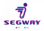 이전 및 새 기업 VI 시스템 로고를 겹쳐 본 모습 (사진제공: Segway Inc.)