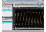 임의파형 발생기 컨트롤 및 PC기반 애플리케이션 용 소프트웨어