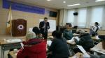 지난달 23일 충청남도 부여군에서 학부모 독서교육 강의를 진행하고 있다. (사진제공: 국민독서문화진흥회)
