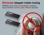 TI가 자사의 고성능 스텝퍼 모터 드라이버 제품군에 새로운 24V 스텝퍼 모터용 디바이스 3종을 추가한다고 밝혔다