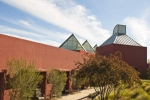 Santa Fe University of Art and Design: Visual Arts Center designed by Ricardo Legorreta