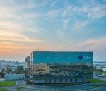 도하(Doha)의 QNB 그룹 본사 건물 전경