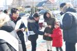 금산군이 2016년 금산인삼울산박람회를 알리기 위한 거리홍보 캠페인을 펼쳤다 (사진제공: 금산군청)