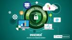 이노릭스가 금융 솔루션과 컨설팅 서비스를 수행하는 아이리스크와 전략적 파트너 계약을 체결했다