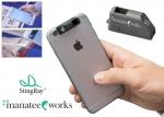 코그넥스가 스마트폰에 부착이 가능한 특허 출원 중인 부착형 바코드 스캔 액세서리 StingRay를 출시한다