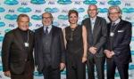 팸퍼스와 UNICEF, 다보스 세계경제포럼에서 10년에 걸친 민-관 파트너십의 영향력 논의(사진 좌에서 우로: 마틴 소렐 경(Sir Martin Sorrell), 제라르 보퀴네(Gérard Bocquenet) 이사, 마리아 바르티로모(Maria Bartiromo), 데이비드 세이블(David Sable)) (사진제공: Procter & Gamble UK)