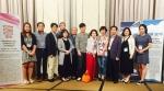 베트남 호치민 니코호텔서 열린 ICSMB 2016중소기업융합학회국제학술대회에서 단체 촬여응 하고 있다