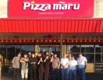 피자마루가 미국 뉴욕 플러싱에 1호점을 오픈했다