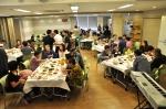 마포구 높은뜻광성교회가 지역에서 홀로 지내는 어르신들을 초대해 무료로 점심 식사를 대접하고 도시락을 배달하는 나눔 행사를 개최한다 (사진제공: 높은뜻광성교회)