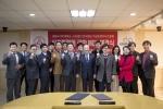 세종사이버대학교가 한국중소기업프랜차이즈협회와 외식 및 프랜차이즈 산업 전문가 양성을 위한 업무협약을 체결했다 (사진제공: 세종사이버대학교)