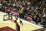 ZTE가 클리블랜드 캐벌리어스(Cleveland Cavaliers)의 홈게임과 함께 음력 설날을 축하한다 (사진제공: ZTE USA)