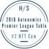 NTT커뮤니케이션즈, 'HfS 오토노믹스 프리미어 리그 테이블 2016'에서 2위에 선정