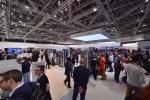11일 모나코에서 열린 삼성전자의 대륙별 전략제품 소개행사인 삼성 유럽포럼 전시장 전경