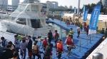 많은 관람객들이 찾아온 2014 부산국제보트산업전의 모습이다