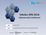 국제 사이버 보안 컨퍼런스 InfoSec MN 2016이 3월 2일 울란바토르에서 열린다