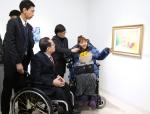 장애인작가의 작품설명