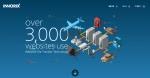 기업용 파일전송 솔루션 전문기업 이노릭스의 리뉴얼 오픈한 공식 홈페이지가 DBCUT를 통해 우수 웹디자인 홈페이지로 선정됐다