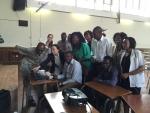 건국대병원은 지난 9일부터 19일까지 아프리카 짐바브웨에서 무료 선천성 심장병 수술을 비롯해 현지 의료진을 대상으로 강연을 펼치고 의료기기를 기증하는 등 의료 봉사를 진행했다 (사진제공: 건국대학교)