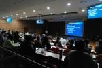 민트영상의학과 배재익 원장이 다리동맥 폐쇄병의 혈관개통술에 대해 강의하고 있다