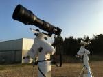 극적인 장면을 포착하기 위해 망원경에 부착된 파나소닉 LUMIX GH4 카메라 (사진제공: Panasonic Corporation)