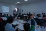 학생들 및 대학생 멘토, SAP 코리아 임직원이 런 베터 프로그램에 열중하고 있다 (사진제공: SAP코리아)