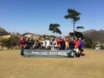 라쉬반이 25일 전남에 위치한 여수시티파크골프&호텔에서 연예인 골프단 창단식을 개최했다