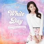 패션쇼핑몰 엔터식스가 4일부터 16일까지 13일간 화이트데이 러브 페스티벌을 개최한다