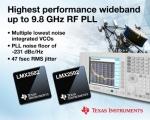 TI가 VCO를 내장한 업계 최고 성능의 PLL 제품을 출시한다